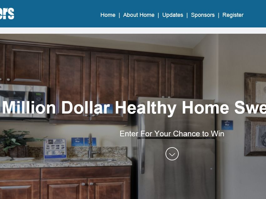 The Doctors' Healthy Home Sweepstakes