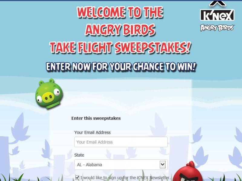 "K'NEX Angry Birds ""Take Flight"" Giveaway"