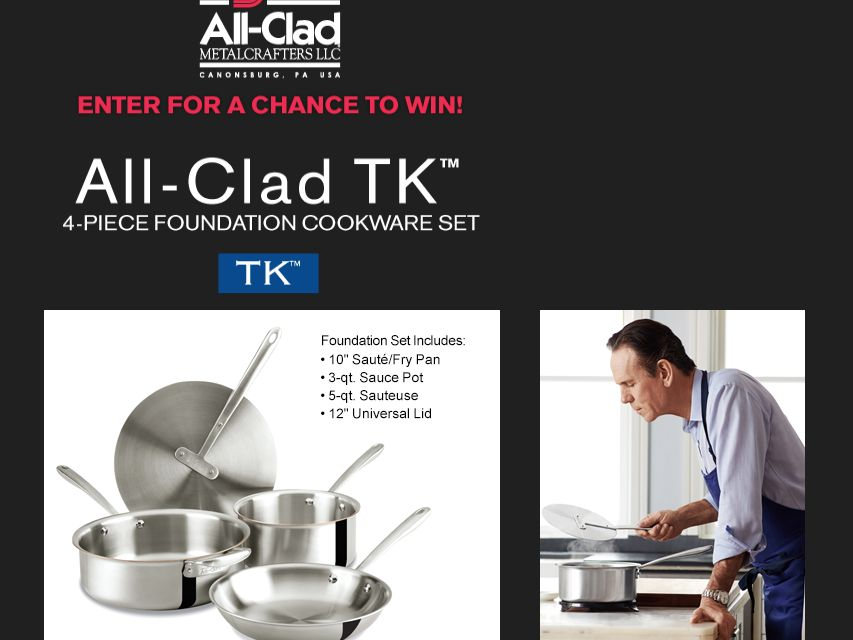 The All-Clad Sweepstakes