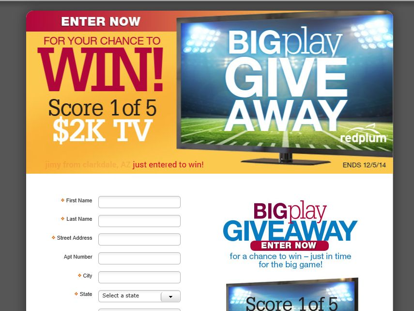 The RedPlum BIGplay Giveaway