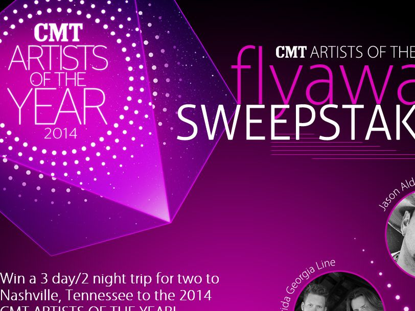 CMT Artists of The Year Flyaway Sweepstakes