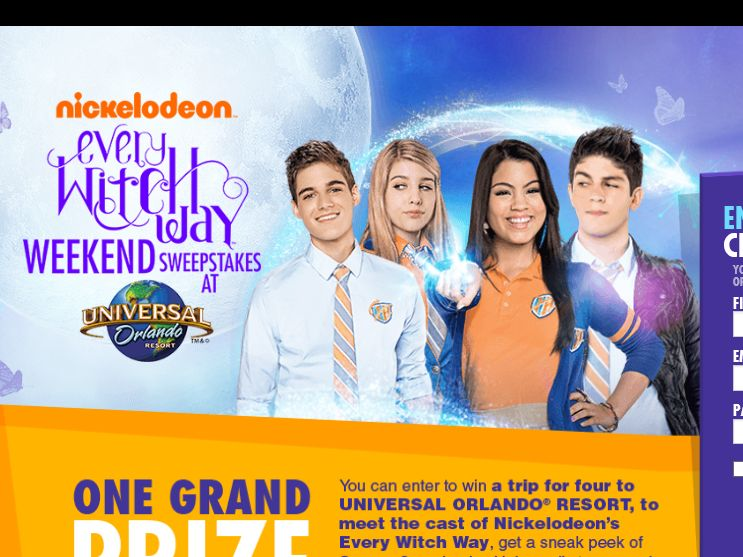 Nick.com Every Witch Way Weekend Sweepstakes