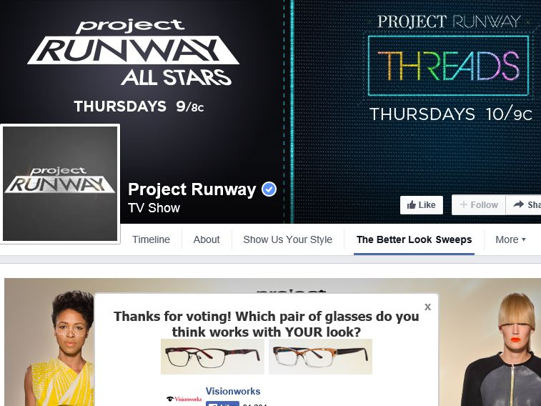 Project Runway All Stars The Better Look Sweepstakes