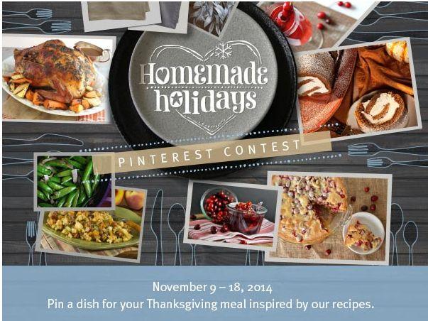 Imperial Sugar Company's Homemade Holidays Pinterest Contest