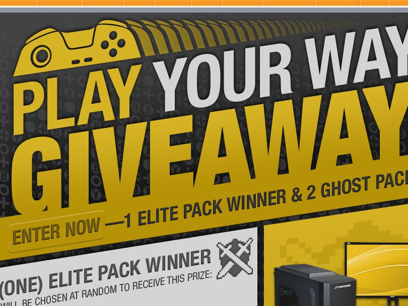The Newegg Play Your Way Sweepstakes