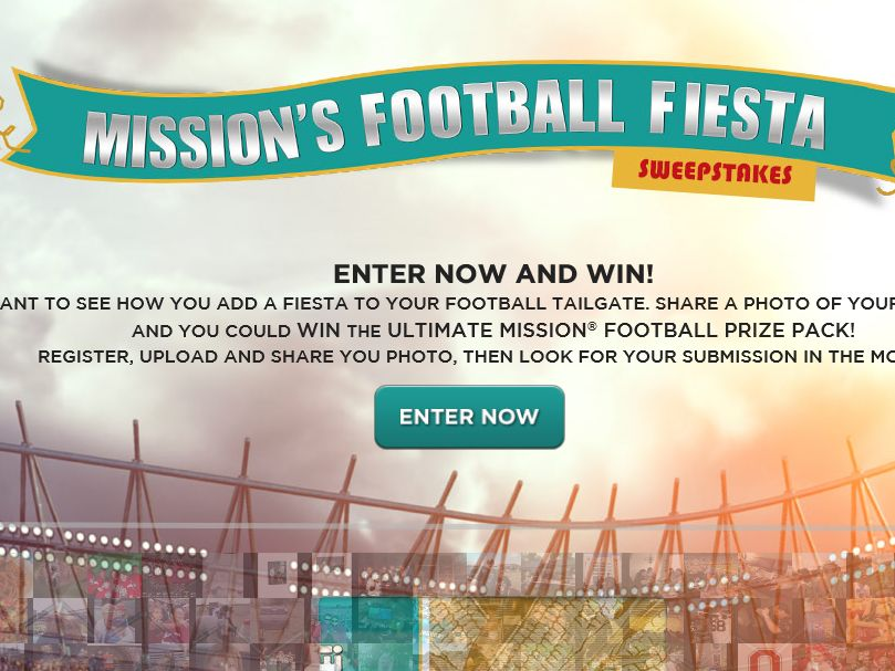Mission Fiesta Football Sweepstakes