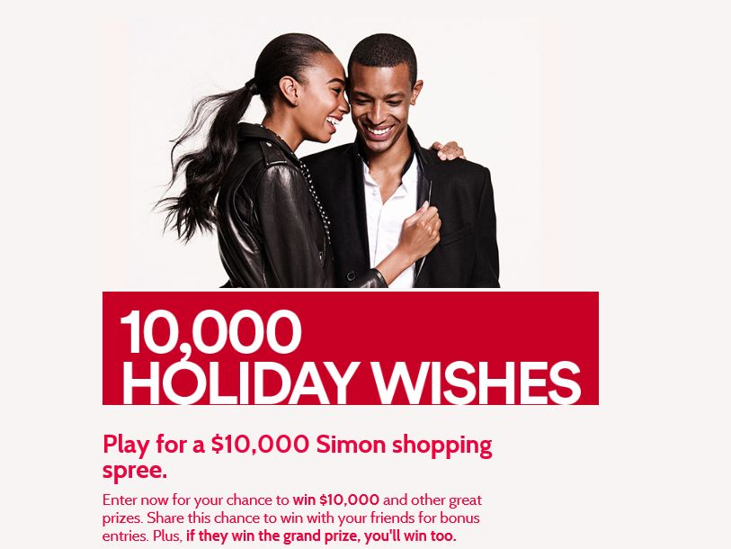 10,000 Holiday Wishes Sweepstakes