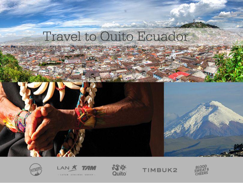 Timbuk2 Quito, Gateway to Adventure Sweepstakes