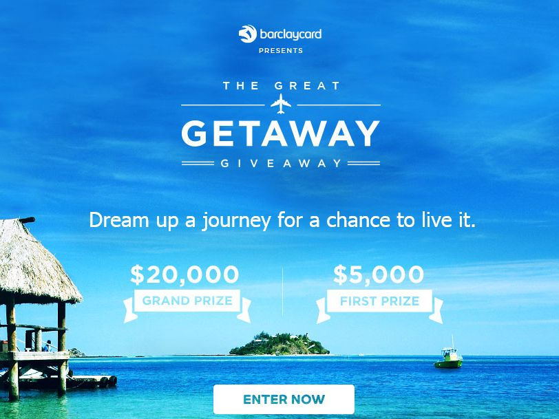 The Barclaycard Travel Community $5,000 Sweepstakes