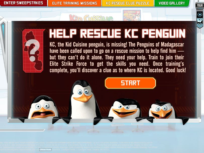 The Operation KC Penguin Rescue Sweepstakes