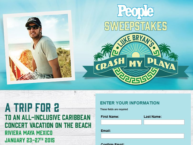 The PEOPLE Crash My Playa Sweepstakes