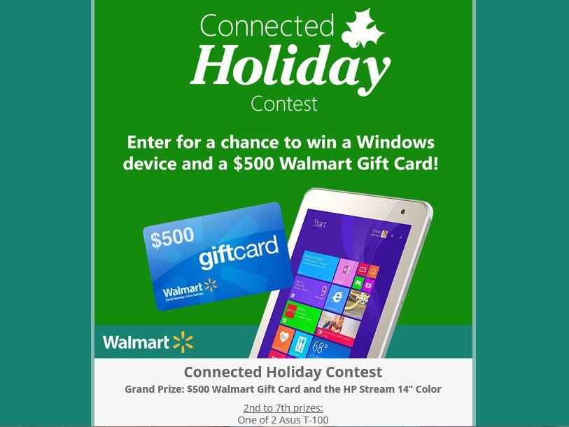 The Microsoft Windows Holiday Sweepstakes