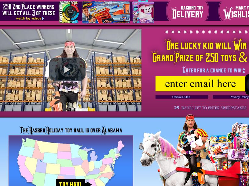 the cartoon network holiday sweepstakes
