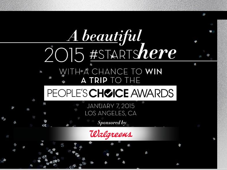 Walgreen's Vote People's Choice Awards Sweepstakes