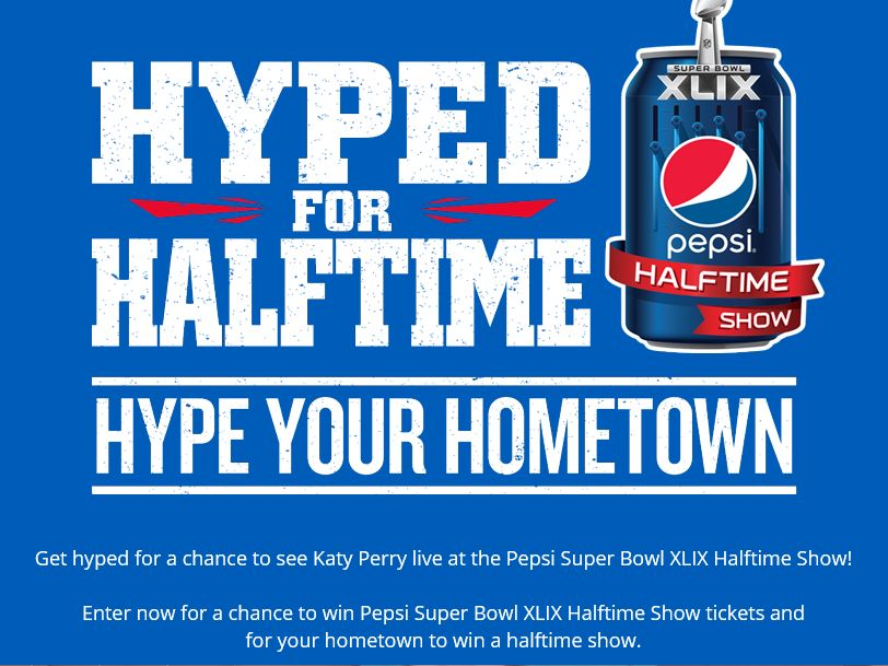 The Pepsi Hype Your Hometown Contest