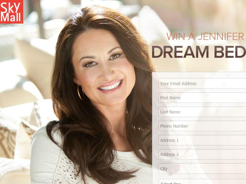 The SkyMall Jennifer Adams Dream Room Giveaway