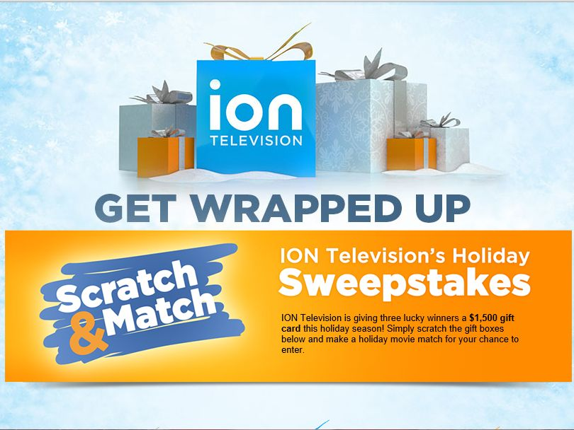ION Insider's Scratch & Match Holiday Sweepstakes