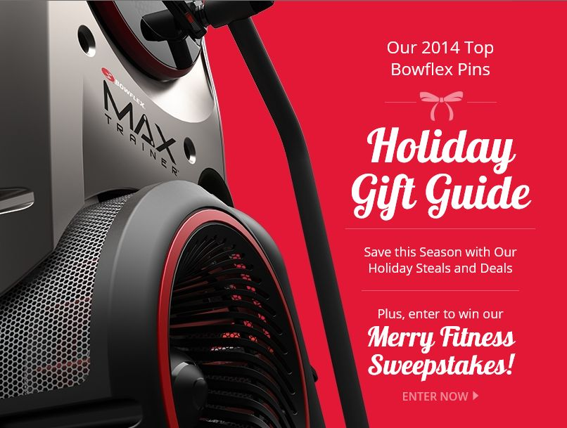 The Bowflex Merry Fitness Sweepstakes