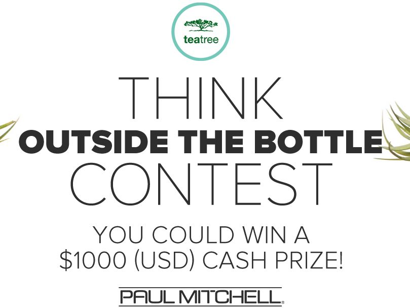 Paul Mitchell Tea Tree Think Outside the Bottle Sweepstakes