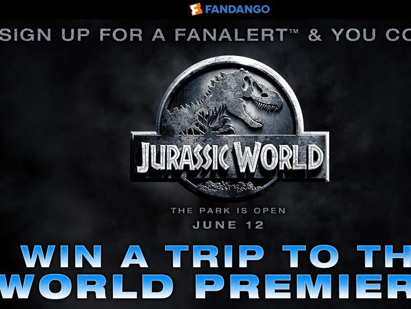 The Fandango Jurassic World Sweepstakes