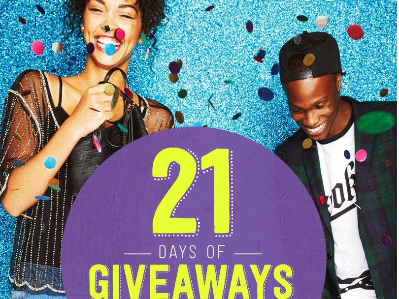"""The rue21 """"21 Days of Giveaways"""" Sweepstakes"""