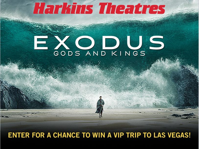 Harkins Administrative Services, Inc. Exodus Giveaway