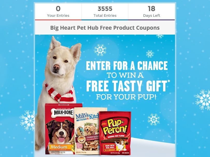 Big Heart's Every Day Is A Treat Sweepstakes