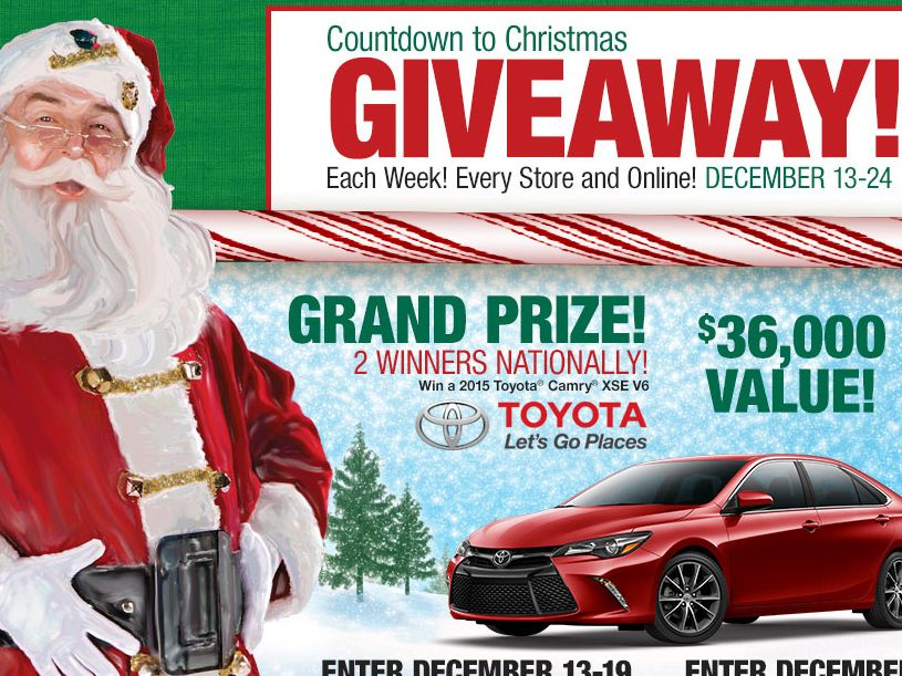 "Bass Pro Shops ""Countdown to Christmas 2014"" Sweepstakes"