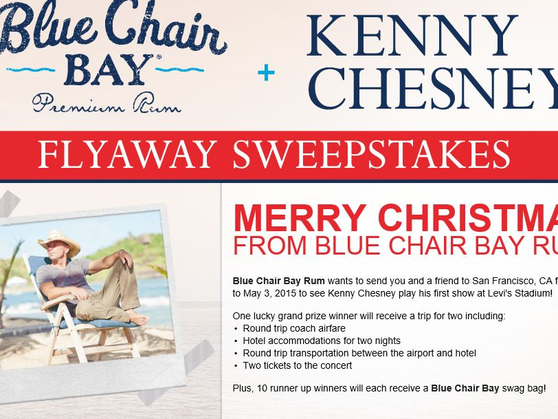 Blue Chair Bay Rum and Kenny Chesney Flyaway Sweepstakes
