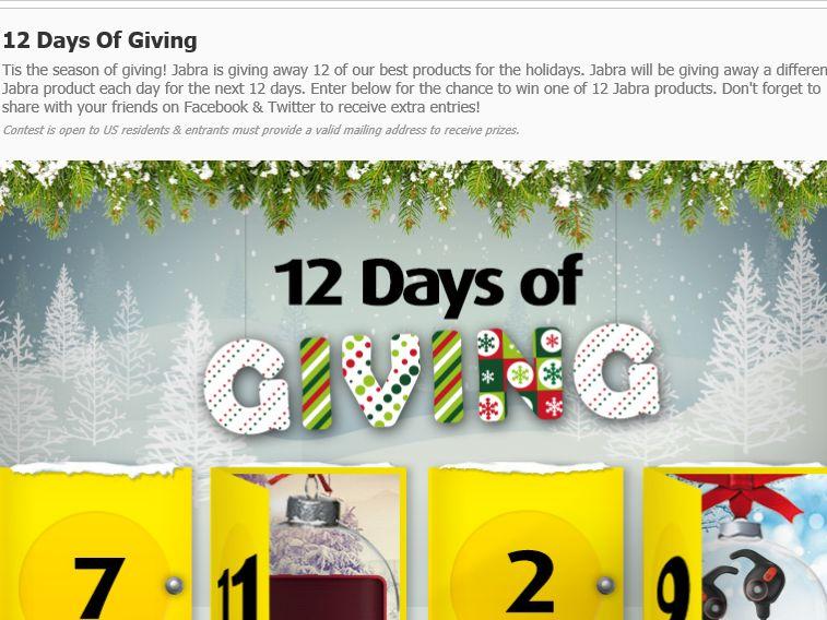 Jabra Giveaways