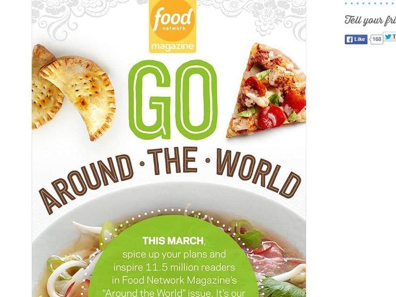 Food Network Magazine Around the World Sweepstakes
