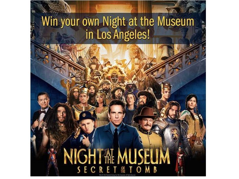 """AMC """"NIGHT AT THE MUSEUM: Secret of the Tomb"""" Giveaway"""