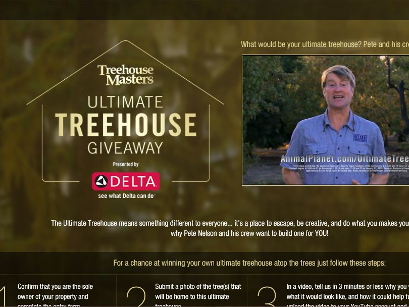 Delta Faucet: Ultimate Treehouse Giveaway