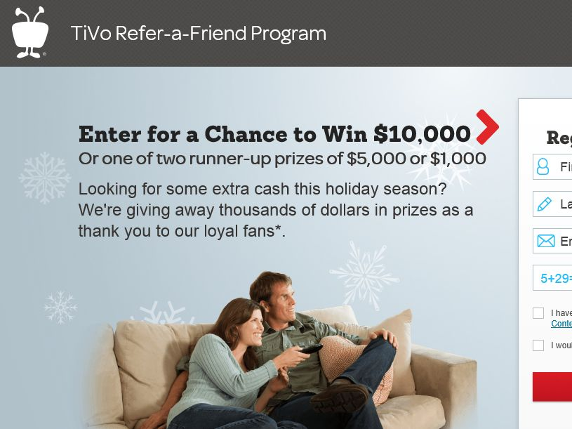 The TiVo Refer-a-Friend Sweepstakes