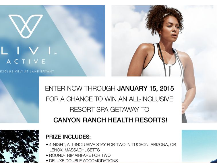 "The Lane Bryant ""Active"" Sweepstakes"