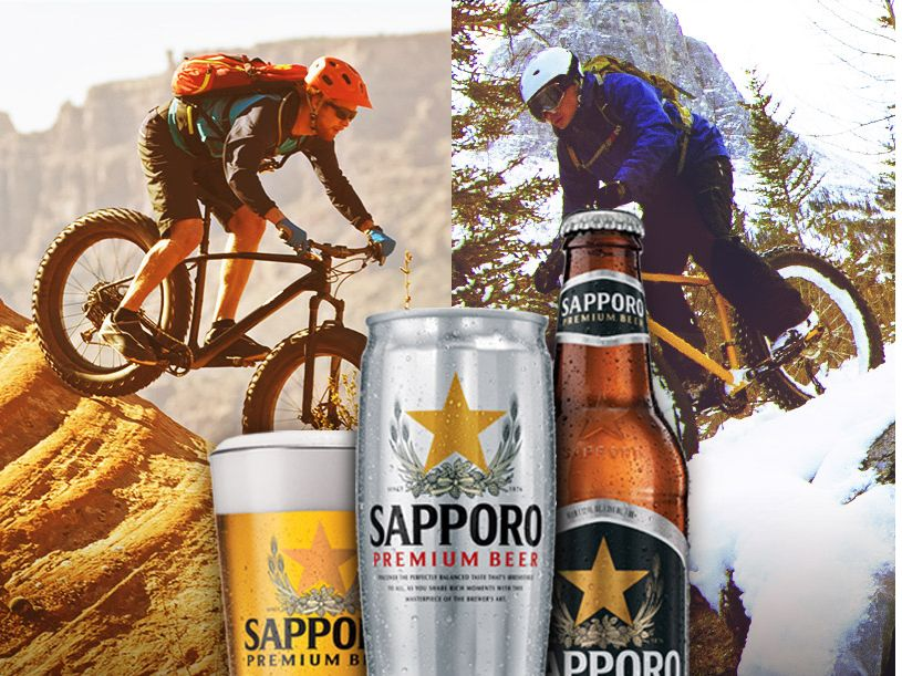 The Sapporo Discover Your Legendary Trail Sweepstakes