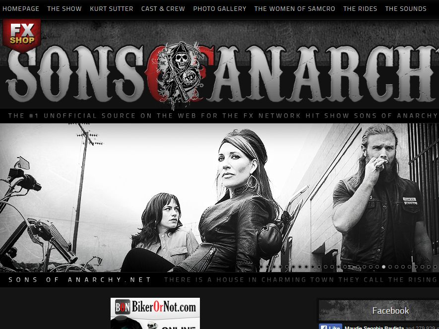 The sons-of-anarchy.net Sweepstakes
