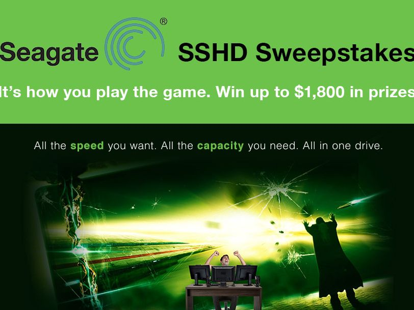 The Seagate How You Play the Game Holiday Giveaway