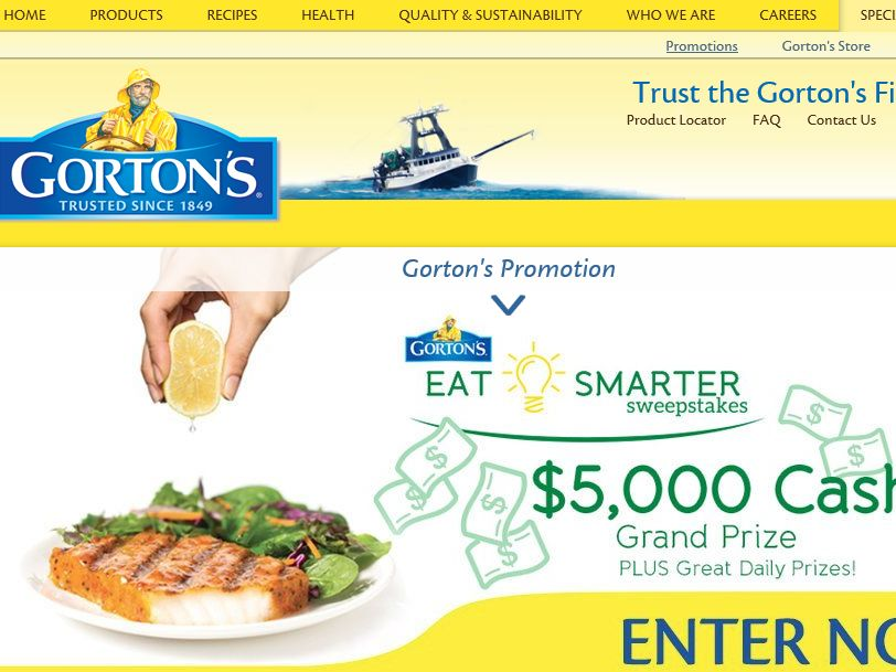 The Gorton's Eat Smarter Sweepstakes