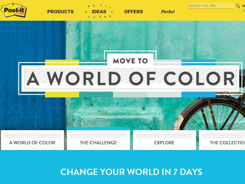 The Post-it Brand 7 Days of Color Sweepstakes