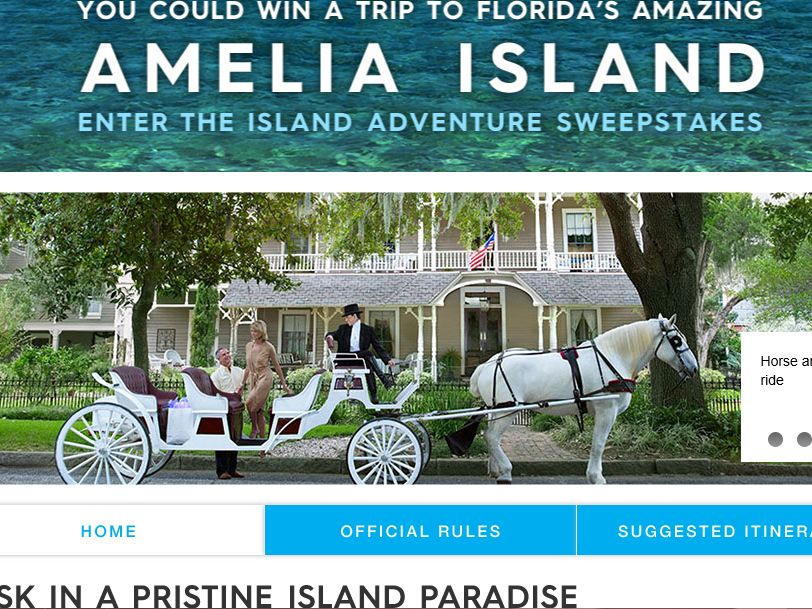 The National Geographic Island Adventure Sweepstakes