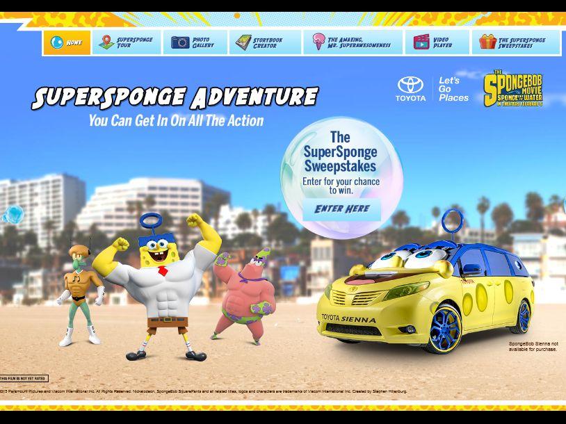Nickelodeon's The SuperSponge Sweepstakes