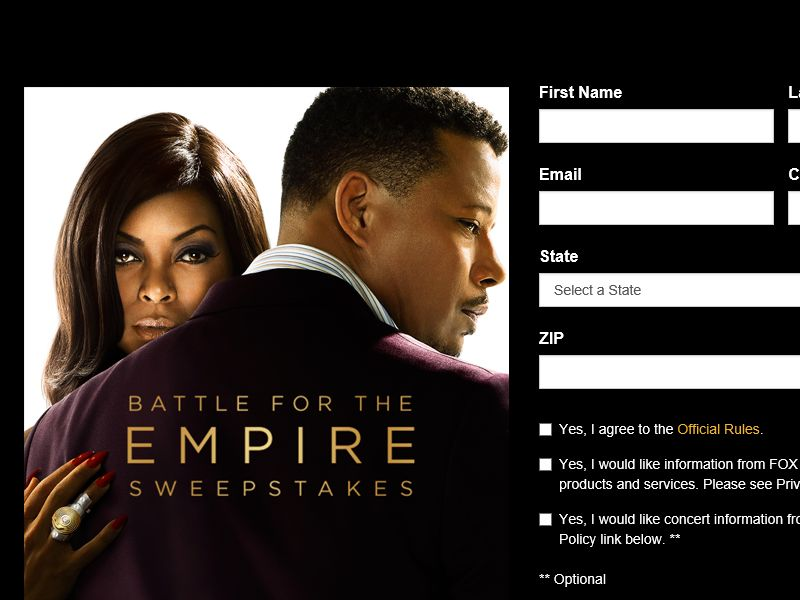 The Battle for the Empire Sweepstakes