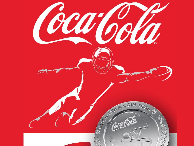 Coca-Cola Coin Toss and Home Media Makeover Sweepstakes