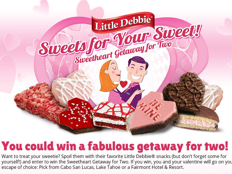 """The Little Debbie """"Sweets for Your Sweet"""" Giveaway"""