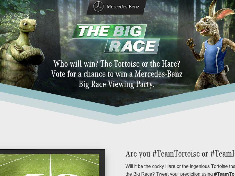 2015 Mercedes-Benz Big Race Contest
