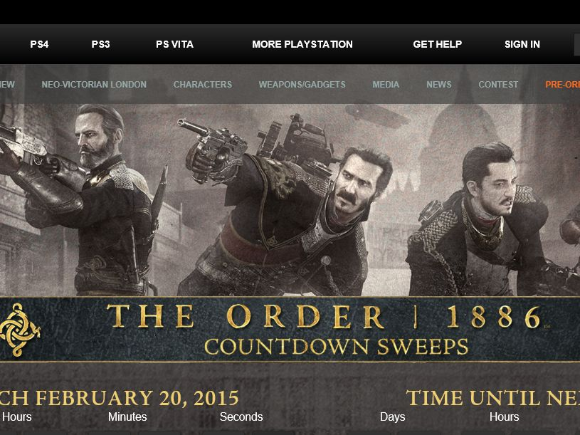 The 1886 Hour Countdown Sweepstakes