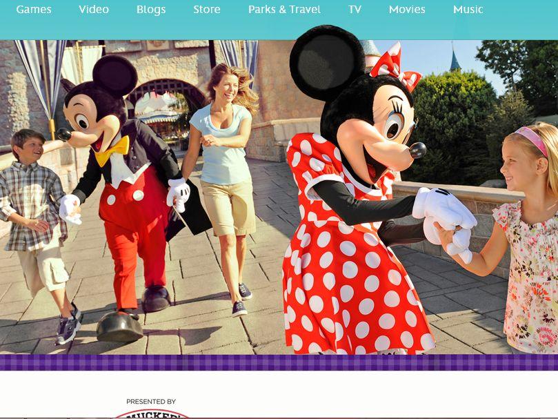 Disney.com Share Your Disney Adventure Promotion