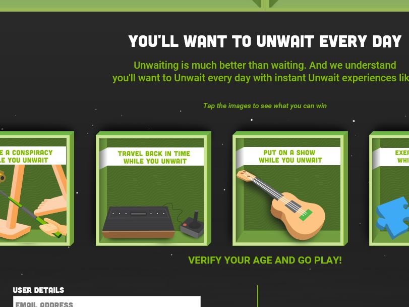 H&R Block Unwait Instant Win Game Sweepstakes