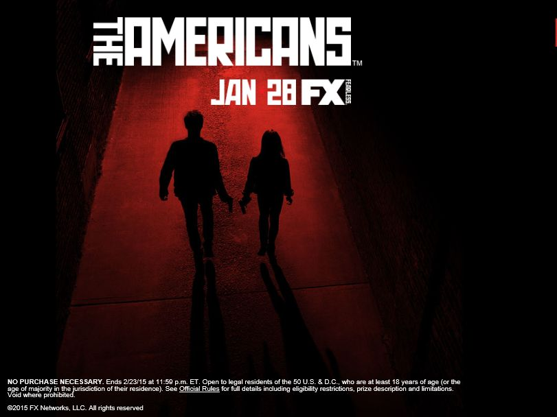 The Americans Undercover Sweepstakes